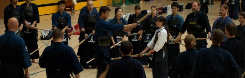 Nabeyama Sensei teaches at the 2013 NKR Summer Seminar